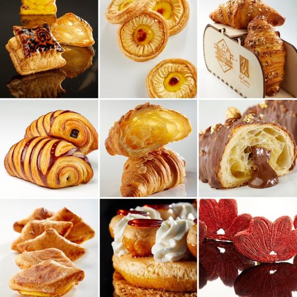 Pasta sfoglia e croissant