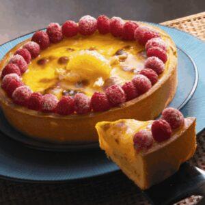 Corso crostata senza glutine alla crema cotta ananas e lamponi - Luca Montersino