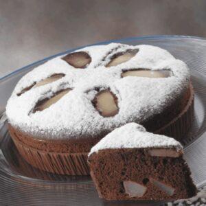 Corso torta di riso pere e cacao - Luca Montersino