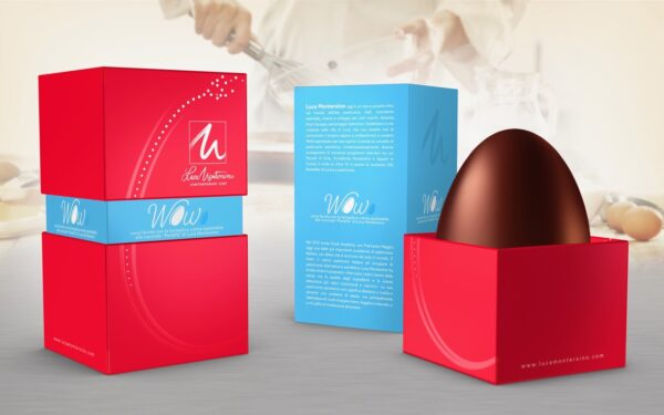 L'uovo di Pasqua WoWo - Luca Montersino Srl Contemporary Chef